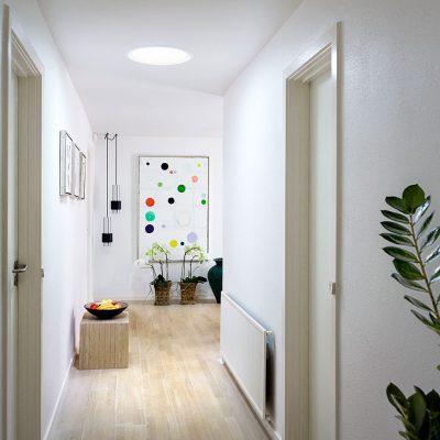 hallway-sun-tunnel-art-after