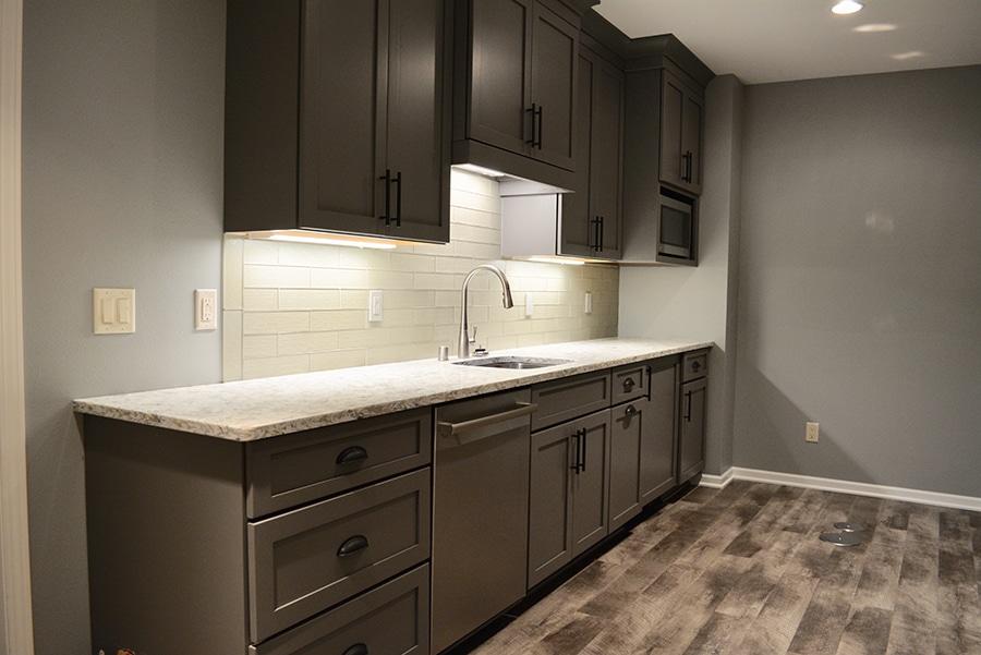 Basement Kitchen Addition Waunakee Remodeling Inc