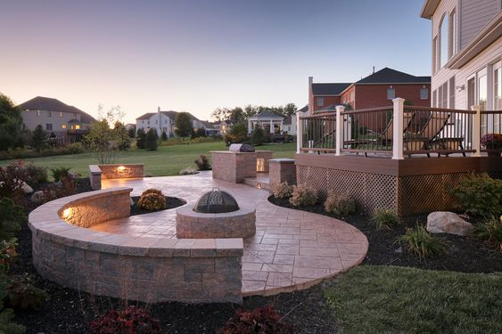 multi-level-patio-designs-with-brick-fire-pit-2