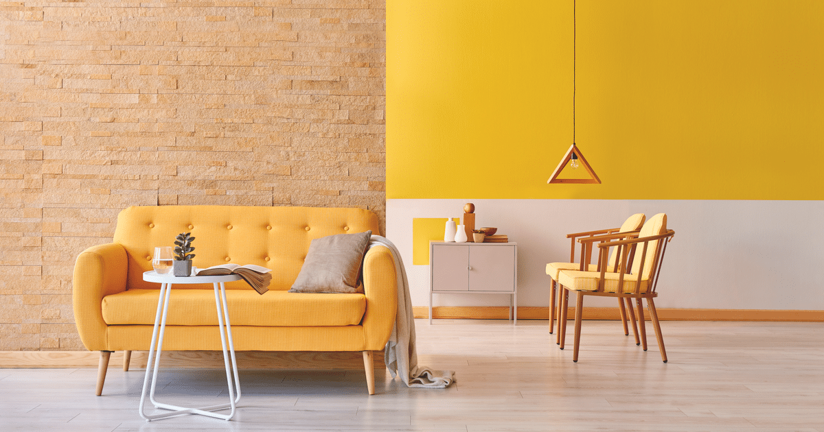 Yellow Mustard Wall Accents For Any Room In Your Home