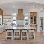 Spacious and Bright Farmhouse Kitchen
